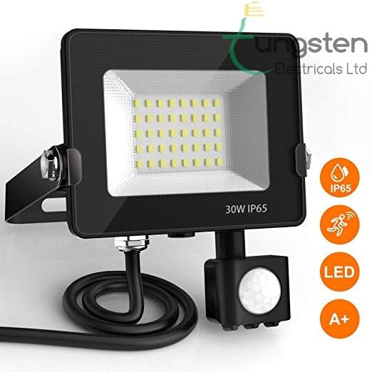 LED motion sensor floodlight