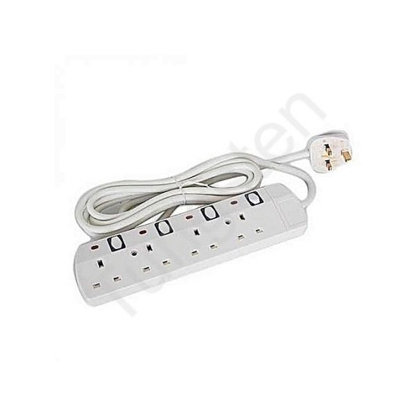 4 way extension socket