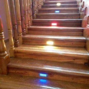 rectangular staircase light