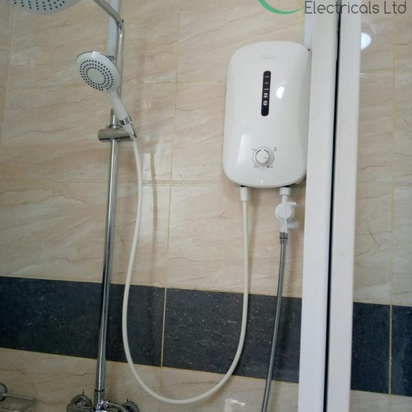 MIDEA tankless shower
