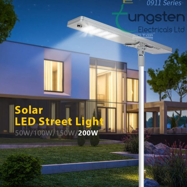 solar streetlight led all in one design delivery installation kenya